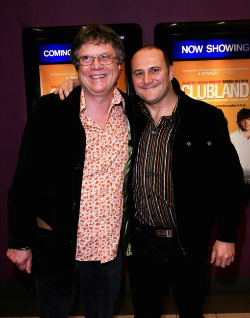Keith Thompson and Russell Dykstra at the Australian premiere of
