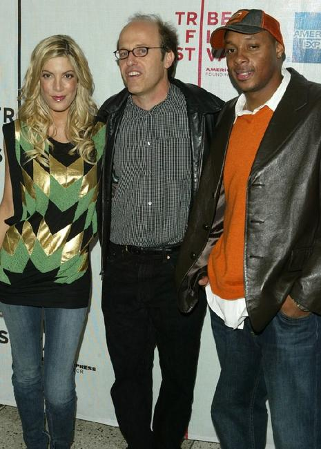 Jordan Hawley, Poppy Montgomery and Dorian Missick at the premiere of