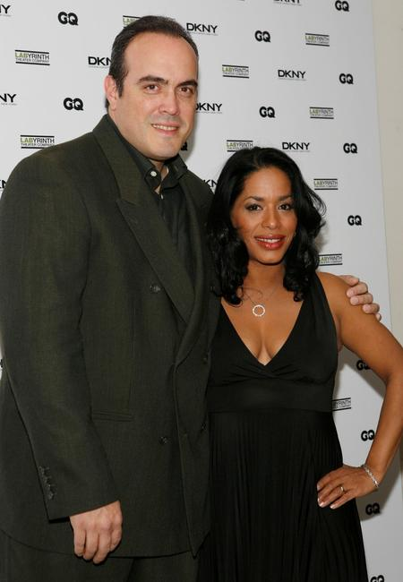 David Zayas and Liza Colon-Zayas at the Company's 5th annual Celebrity Charades.