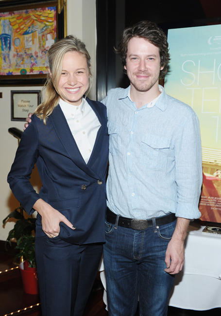 Brie Larson and John Gallagher, Jr. at the New York special Screening of