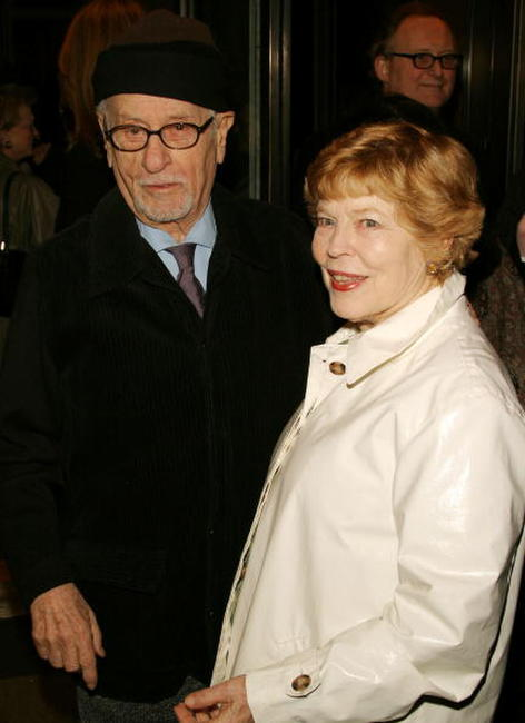 Anne Jackson and Eli Wallach at the opening night of