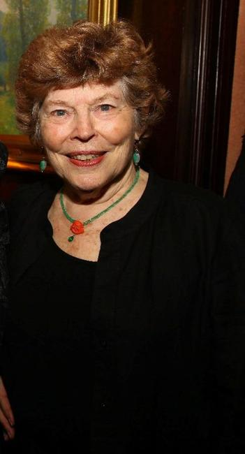Anne Jackson at the National Arts Club dinner.
