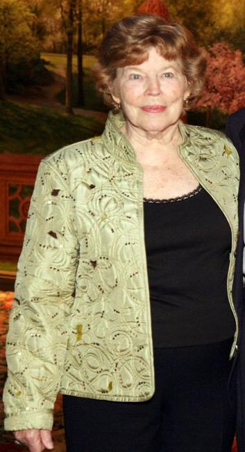 Anne Jackson at the Neighborhood Playhouse School of the Theatre 80th Anniversary Gala and Reunion.