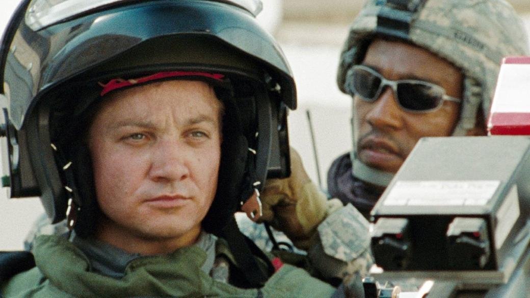 Jeremy Renner and Anthony Mackie in