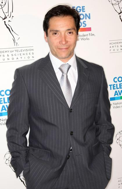 Benito Martinez at the 29th College Television Awards Gala.