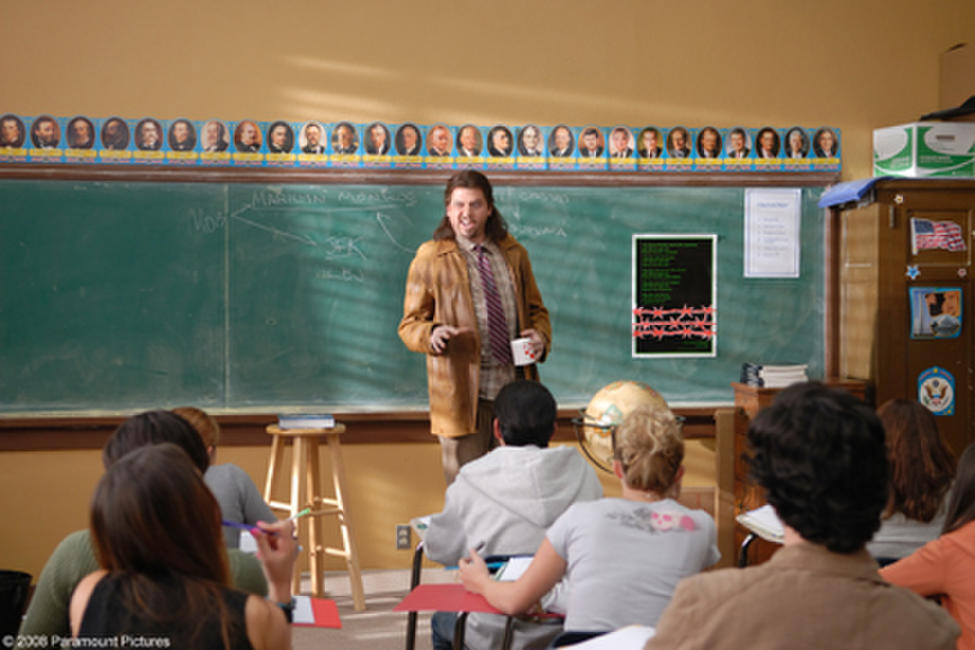 Like his friend Drillbit Taylor, Don (Danny McBride) pretends to be a teacher in