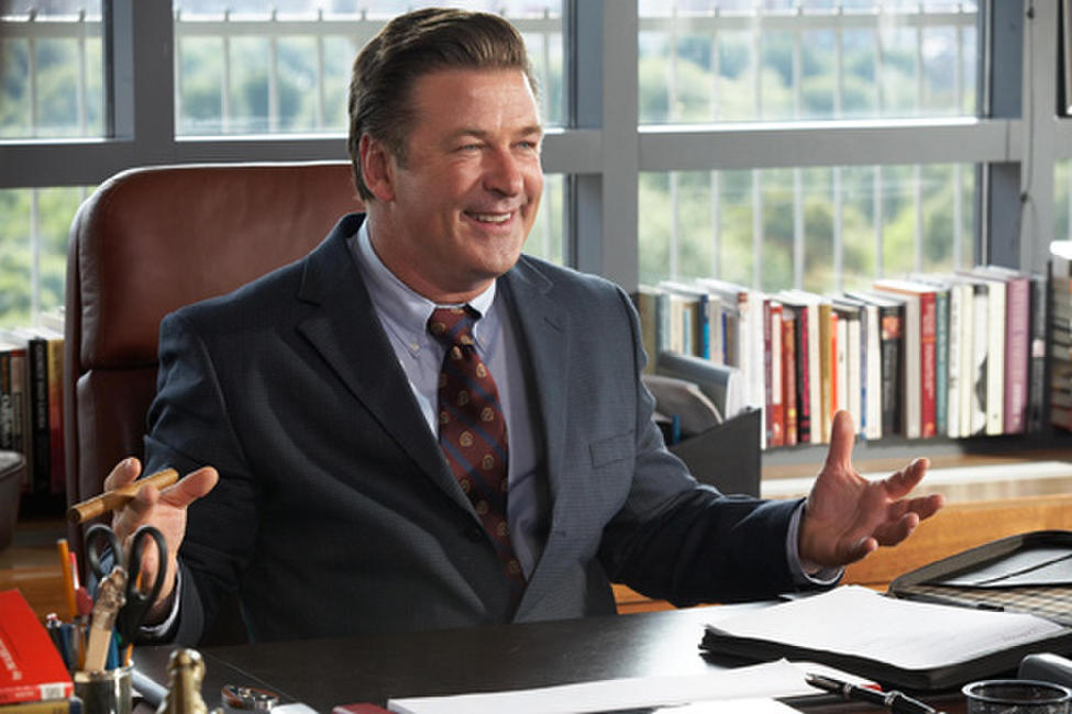 Alec Baldwin as Professor Thompson in