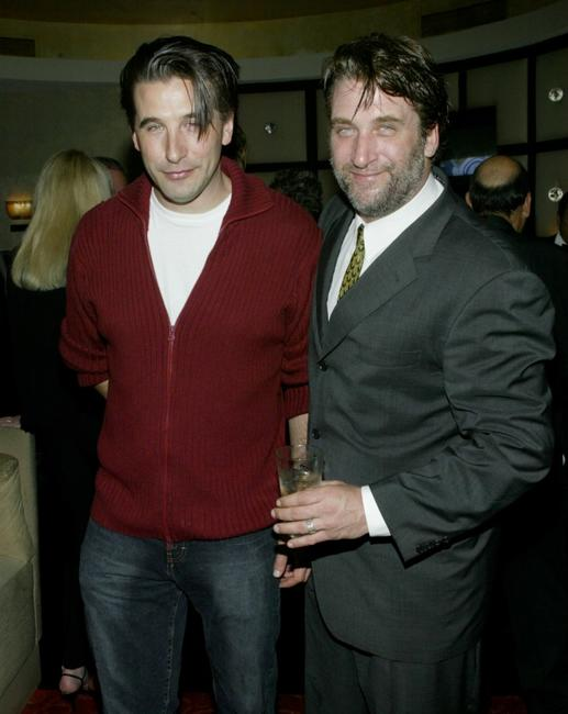 Billy Baldwin and Daniel Baldwin at the Annual Norby Walters Holliday Party.