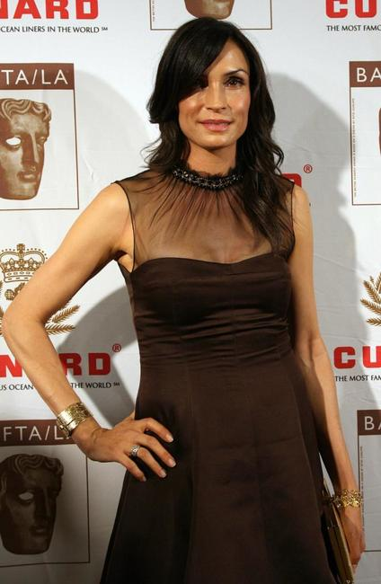 Famke Janssen at the British Academy of Film and Television Arts/Los Angeles (BAFTA/LA) Awards.