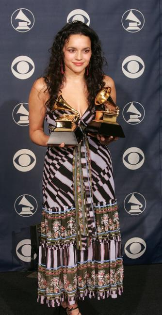 Norah Jones at the 47th Annual Grammy Awards.