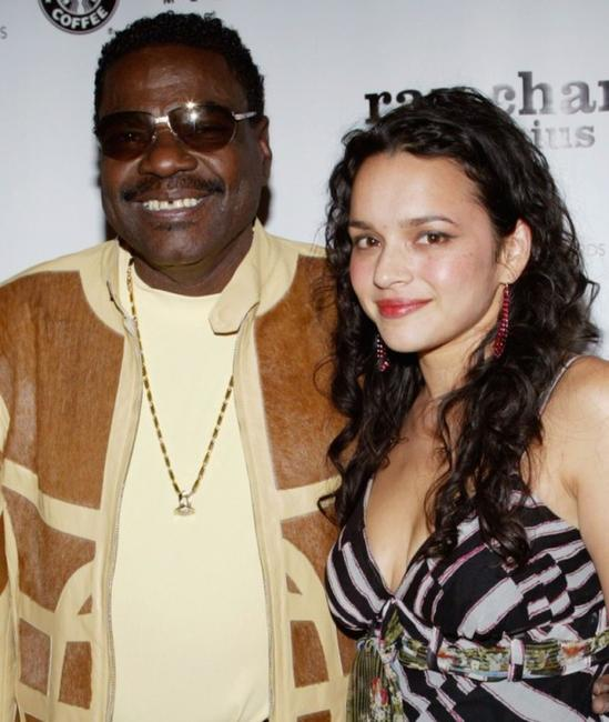 Billy Preston and Norah Jones at the