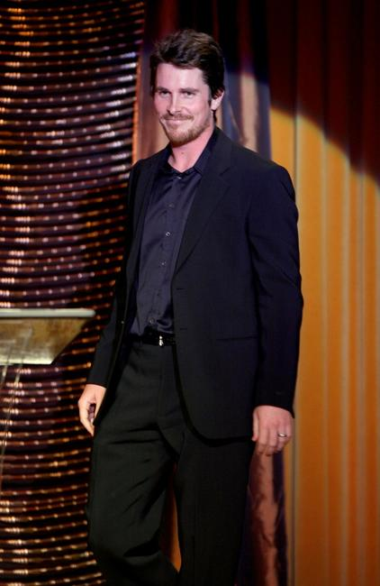 Christian Bale at the 10th Annual Costume Designers Guild Awards.