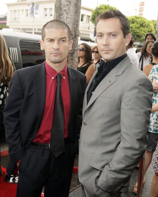 Ben Garant and Thomas Lennon at the premiere of