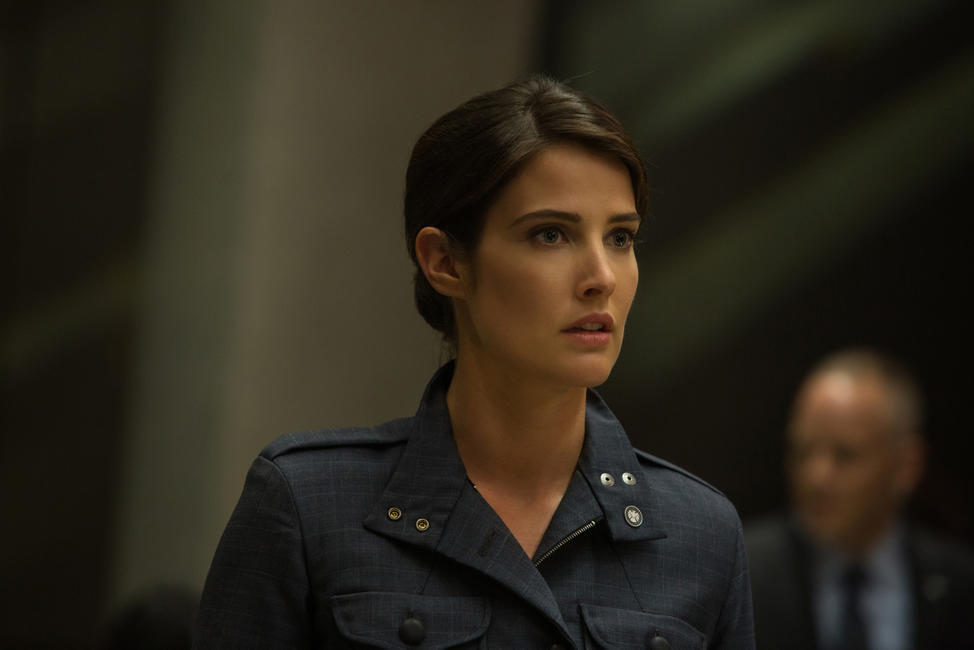 Cobie Smulders as Maria Hill in