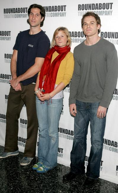 Pablo Schreiber, Mamie Gummer and Michael C.Hall at the cast of