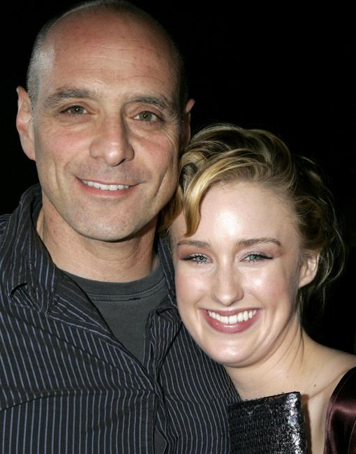 Eric Schlosser and Ashley Johnson at the Los Angeles premiere of