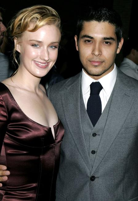 Ashley Johnson and Wilmer Valderrama at the Los Angeles premiere of