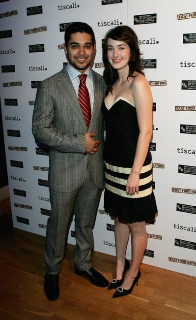 Wilmer Valderrama and Ashley Johnson at the UK premiere of