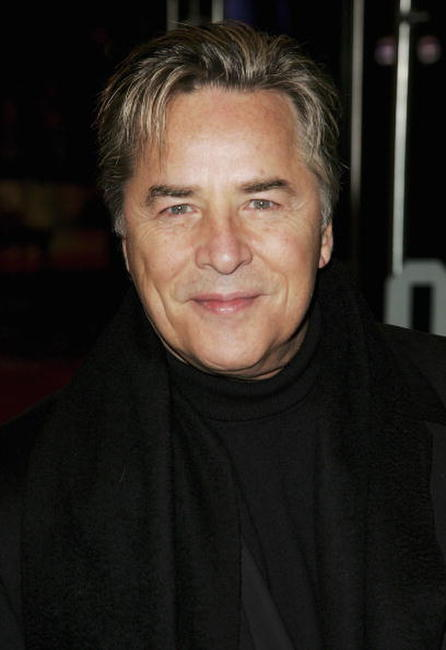 Don Johnson at the UK premiere of