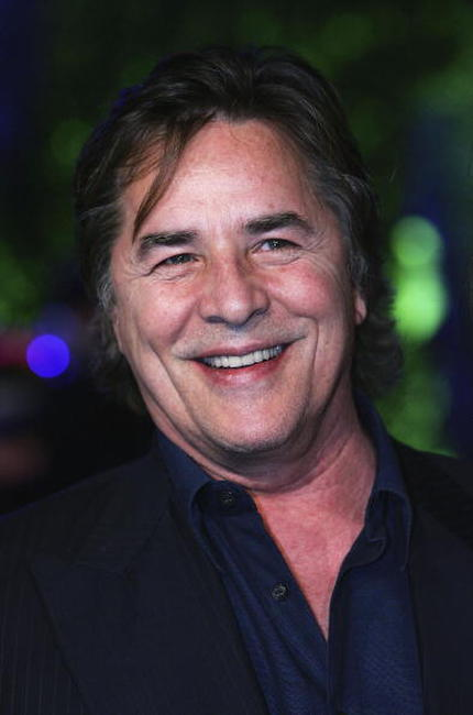 Don Johnson at the Vanity Fair Oscar party.