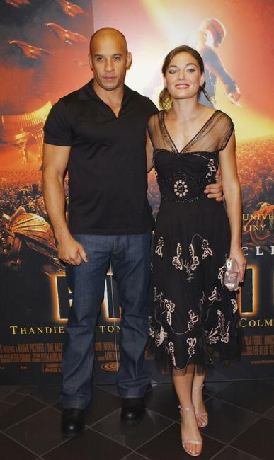 Vin Diesel and Alexa Davalos at the UK premiere of