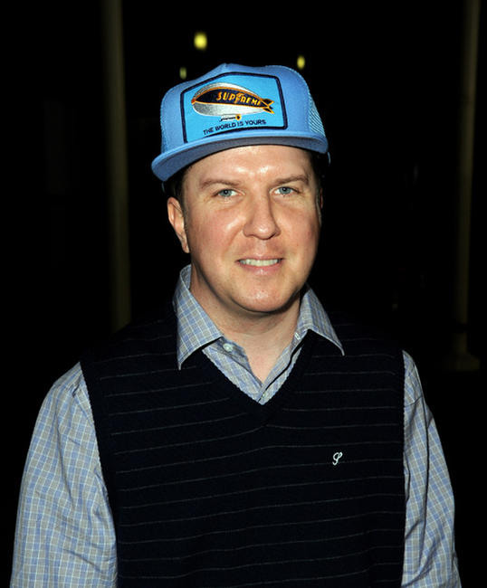 Nick Swardson and David Koechner at the California premiere of