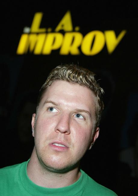 Nick Swardson at the famous L.A Improv Club.