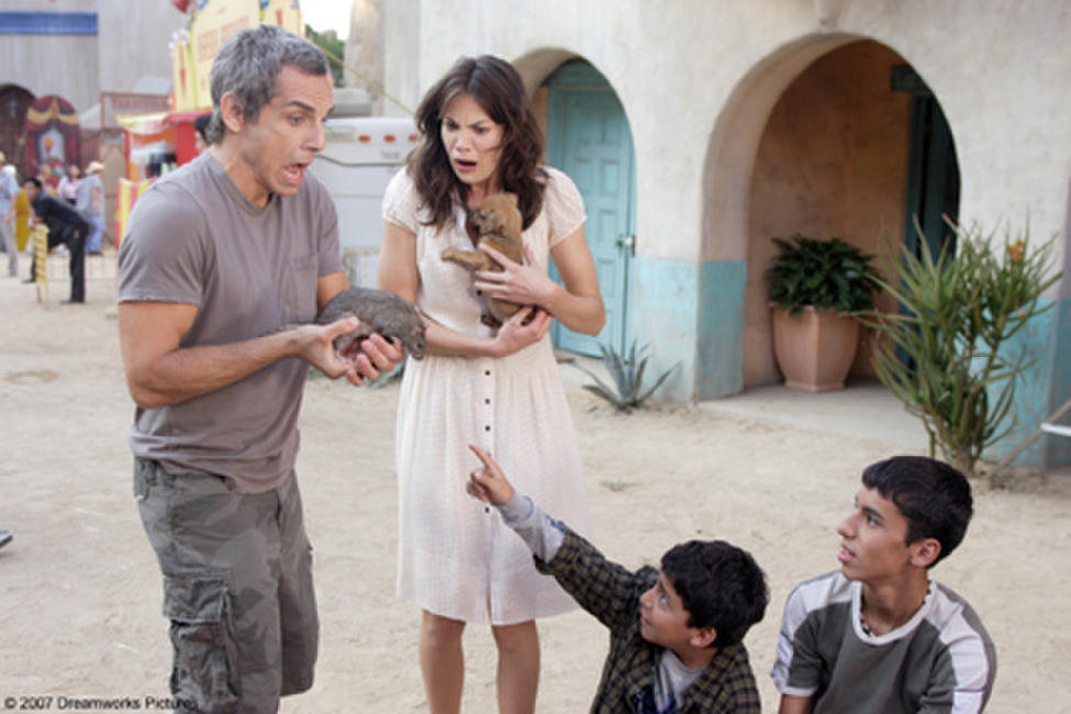 Ben Stiller and Michelle Monaghan in