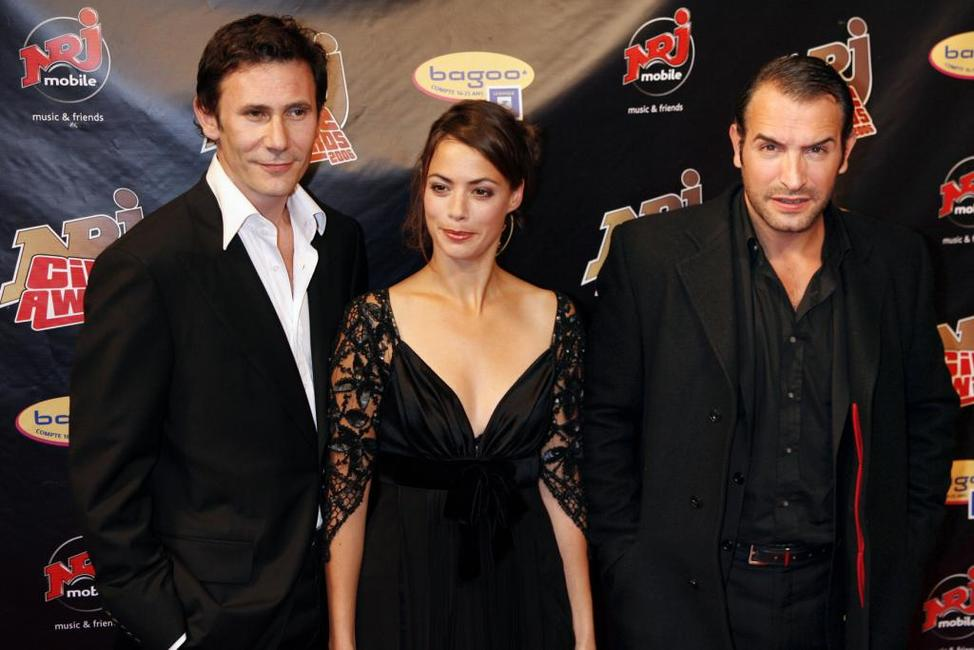 Berenice Bejo, Jean Dujardin and Guest at the NRJ Cine Awards show.