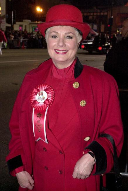 Shirley Jones at the Hollywood Christmas Parade.