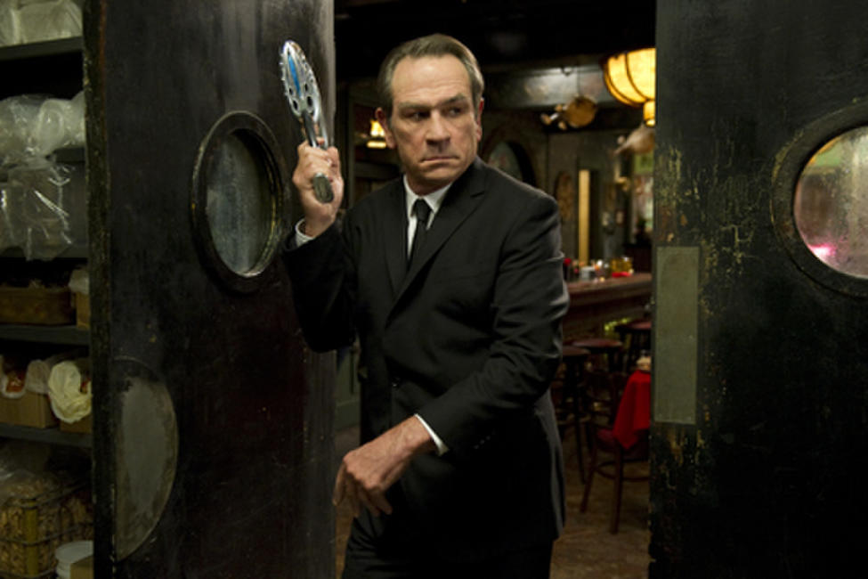 Tommy Lee Jones as Agent K in ``Men in Black 3.''