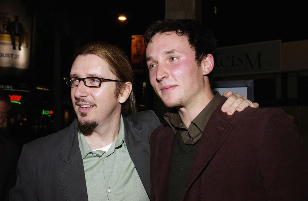 Scott Derrickson and Joshua Close at the premiere of