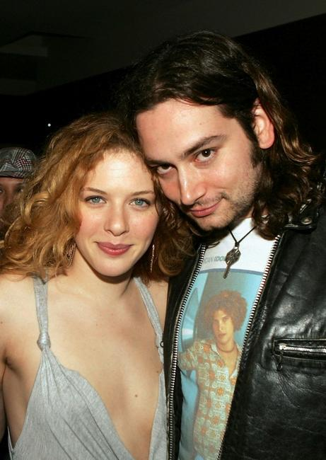 Rachelle Lefevre and Constantine Maroulis at the party to celebrate