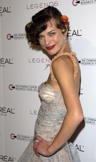 Milla Jovovich at the 2nd Annual Legends Gala