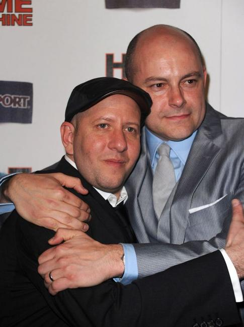 Director Steve Pink and Rob Corddry at the California premiere of