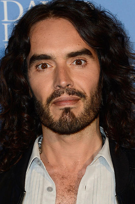 Russell Brand at the 'Meditation In Education' Global Outreach Campaign in L.A.