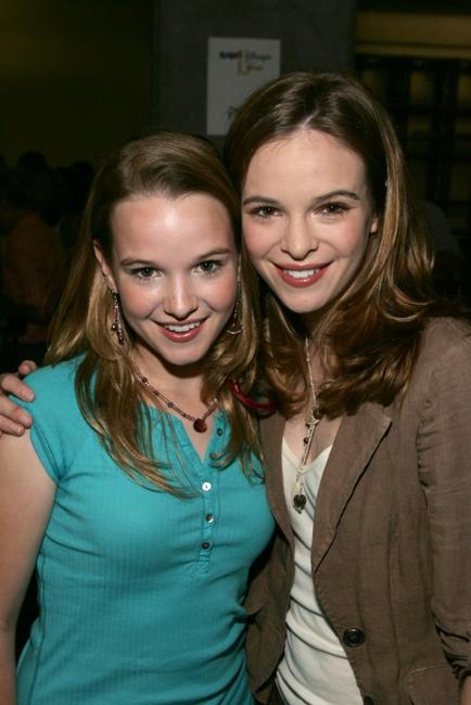 Kay Panabaker and Danielle Panabaker at the Radio Disney Totally 10 Birthday Concert.