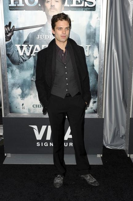 Sebastian Stan at the New York premiere of