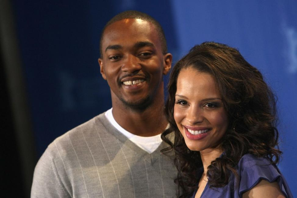 Anthony Mackie and Antonique Smith at the photocall of