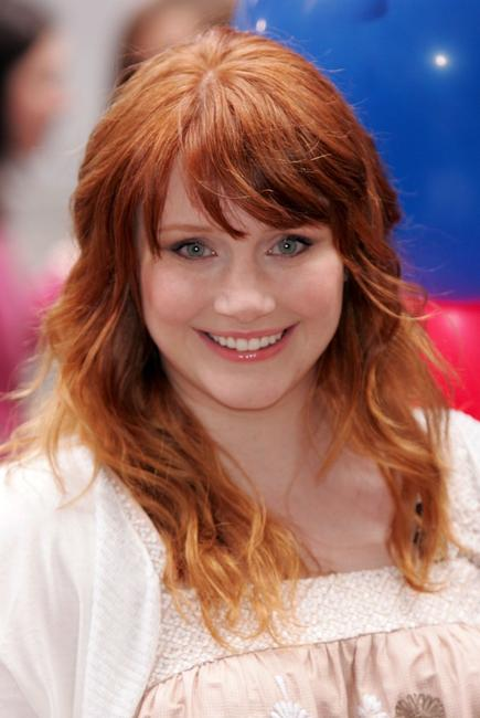 Bryce Dallas Howard at the NBC Today Show.