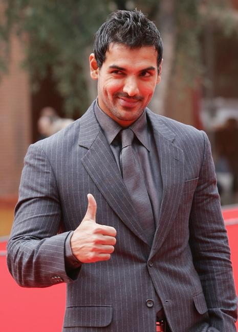 John Abraham at the premiere of