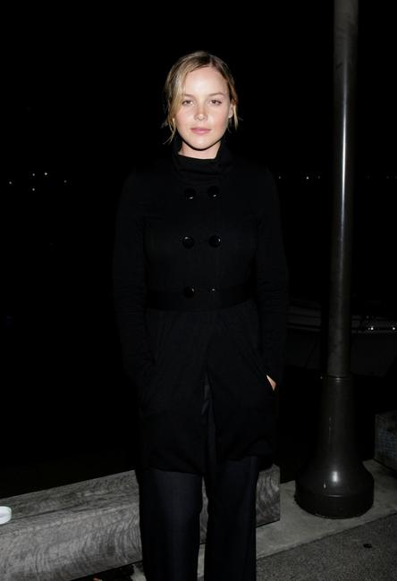 Abbie Cornish at the Commitment To Animals Day dinner event.