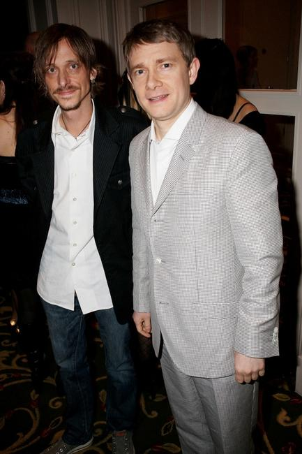 Mackenzie Crook and Martin Freeman at the Jameson Empire Magazine Awards.