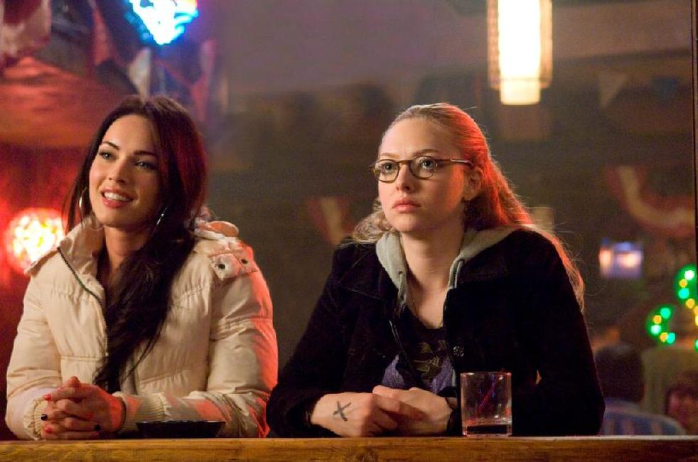 Megan Fox as Jennifer and Amanda Seyfried as Needy in