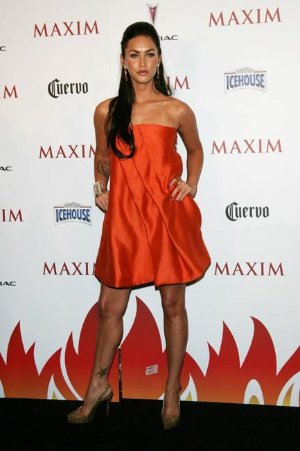 Megan Fox at the Maxim Hot 100 Party.