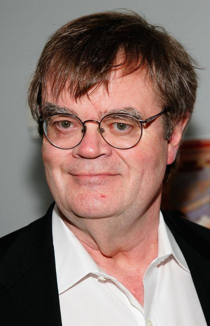 Garrison Keillor at the premiere of