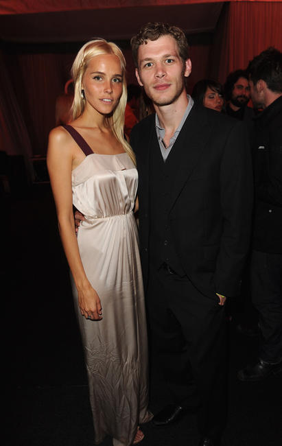 Isabel Lucas and Joseph Morgan at the after party of the world premiere of