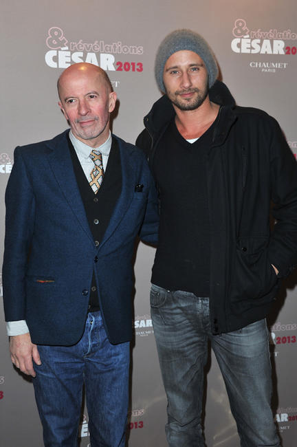 Jacques Audiard and Matthias Schoenaerts at the