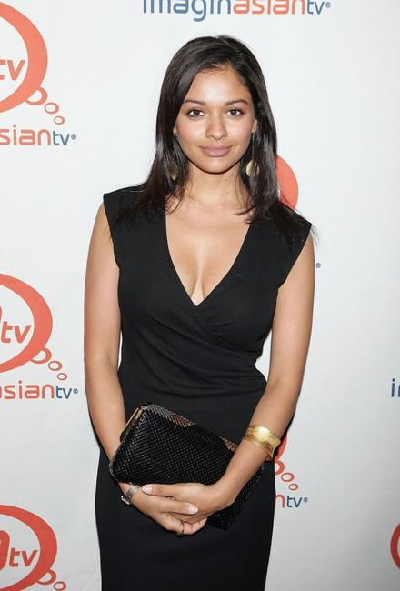 Pooja Kumar at the party to celebrate the launch of ImaginAsian TV.