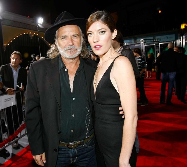 Rade Sherbedgia and Jennifer Carpenter at the premiere of